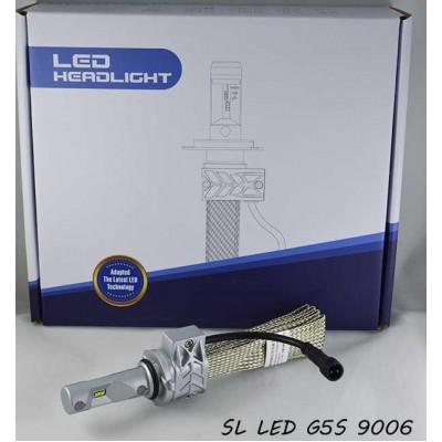Комплект LED ламп в основные фонари серии G5S Цоколь НB4 (9006), 22W, 3600 Люмен/Комплект