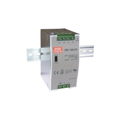 Блок питания Mean Well На DIN-рейку 120 Вт, 12V, 10 А DR-120-12