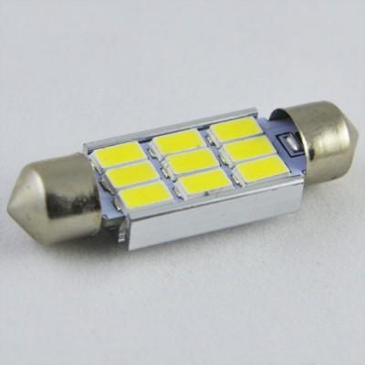 Светодиодная  лампа SLS LED  под цоколь SV8,5(C5W) 39mm 9-5630 Белый