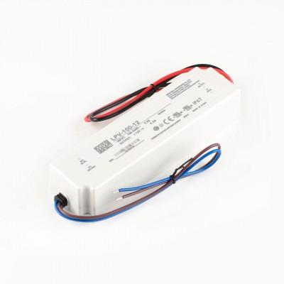 Блок питания MeanWell Герметичный 12V 100Вт (арт.LPV-100-12)