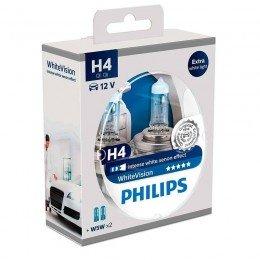Галогенная лампа H4 Philips 12342WHVSM WhiteVision