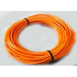 Электролюминесцентный провод (холодный неон) III поколение, диаметр- 2.2мм., цвет Оранжевый