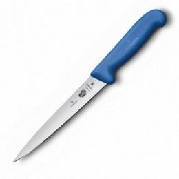 Ніж кухонний Victorinox Fibrox Filleting Flex філейний  18 см синій (Vx53702.18)