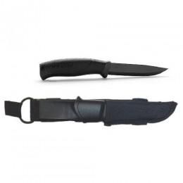 Ніж Morakniv Companion Tactical BlackBlade чорний клинок  колір рукоятки чорний