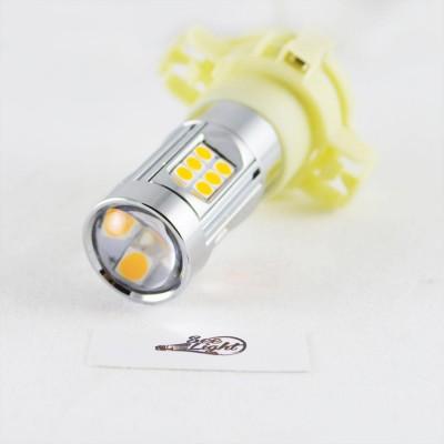 Светодиодная лампа  в поворот, SLP LED с цоколем PSY24W, 9-30V, 30-3030 Желтый