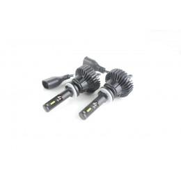 LED лампы в головной свет серии SX5  Цоколь H27/2, 881, 25W, 3000 Люмен/Комплект