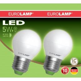 Промо-набор LED Лампа EUROLAMP EKO G45 5W E27 3000K