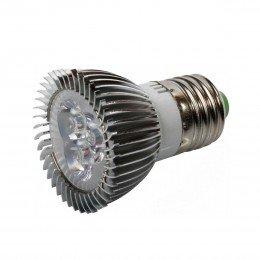 Светодиодная фито лампа для растений Е27 3Вт