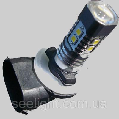 Автомобильная светодиодная лампа с цоколем Н27(881)-Samsung 2323 в противотуманные фонари