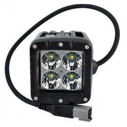 Дополнительная светодиодная фара ALO-2-P4T 40W Сree 9-36V  IP69  3200 Люмен, Дальний свет