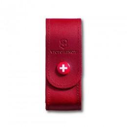 Чохол для ножів шкіряний Victorinox на кнопці  2-4 шари 84-91мм (4.0520.1)