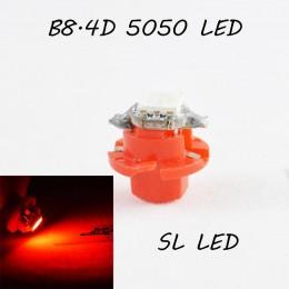 LED лампа в подсветку приборной панели, цоколь B8.4D SL LED красный