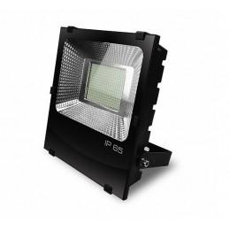 LED Прожектор EUROELECTRIC COB черный с радиатором 200W 6500K