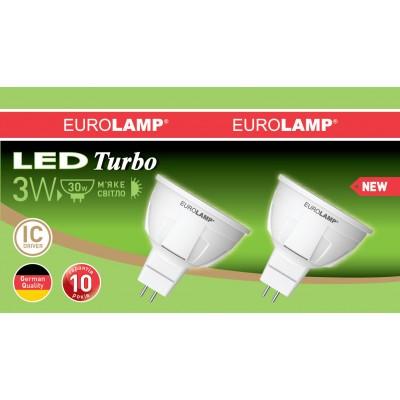 Промо-набор LED Лампа EUROLAMP MR16 3W GU5.3 3000K