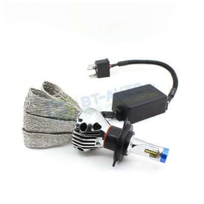 Комплект светодиодных ламп в основные фонари G9X под цоколь Н4 23W 3600 Люмен/Комплект