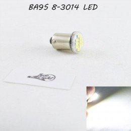 Светодиодная автомобильная лампа SL LED цоколь BA9S(7004-14) 8-3014 LED  Белый