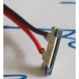 Разъем(коннектор) для светодиодной ленты 8мм. с проводом, соединитель без защелки