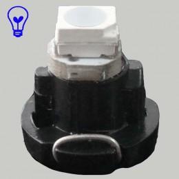 Светодиодная лампа в приборную панель, цоколь T3 1210(3528)-1 Синий