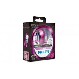 Галогенная лампа H7 Philips 12972CVPPS2 ColorVision фиолетовый