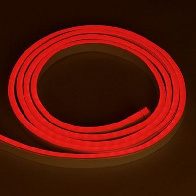 Светодиодный неон SL FLEX ( Неон Флекс, FlexNeon) 8*16 мм. 120-2835 12V Красный