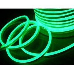 Светодиодный неон SL FLEX ( Неон Флекс, FlexNeon) 8*16 мм. 120-2835 220V Зеленый