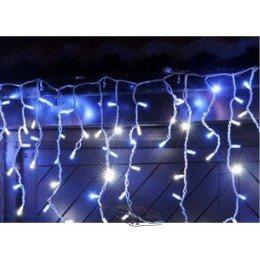 """Гирлянда светодиодная """"Висюлька""""108 ламп (LED). Цвет светодиодов: белый холодный, микс (разноцветный), синий, белый тёплый ; Цвет шнура: белый"""