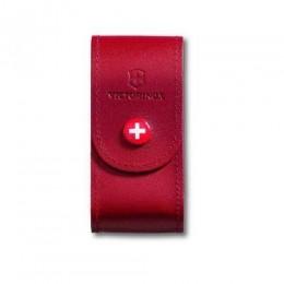 Чохол для ножів шкіряний Victorinox на кнопці  5-8 шарів 84-91мм (4.0521.1)