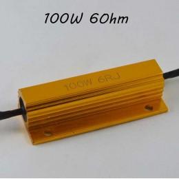 Нагрузочный резистор (Обманка) 100Вт., 6 Ом.