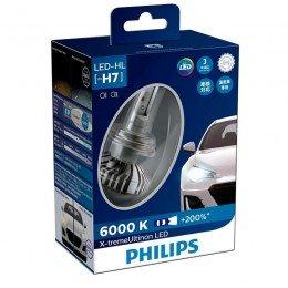 Cветодиодные лампы головного света Philips 12985BWX2 X-treme Ultinon LED для цоколя H7