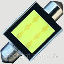 Светодиодная автомобильная лампа в подсветку салона SV8,5(C5W)-39mm-6W-COB
