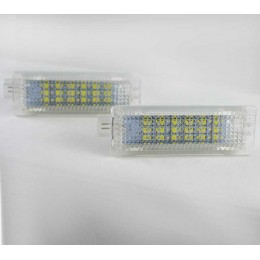 Светодиодные модули в подсветку номерного знака BMW 6000K комплект