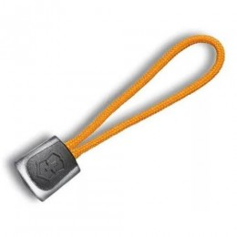 Шнурок Victorinox чорно-помаранчевий 65 мм