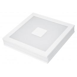 LED Светильник EUROLAMP квадратный накладной Downlight 24W 4000K (с врезным типом монтажа)