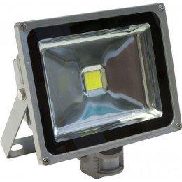 Светодиодный прожектор 50W 6000K 4500LM с датчиком движения