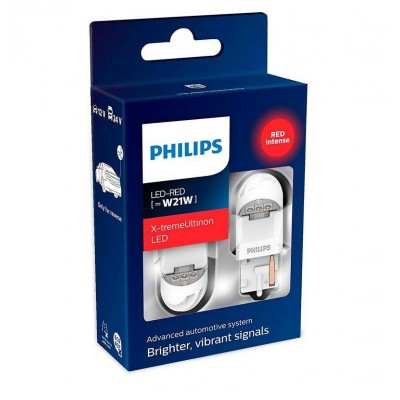 Светодиодные лампы Philips 11065XURX2 X-tremeUltinon LED gen2 W21W