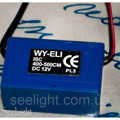 Инвертор для холодного неона серии ISC 12V 800-1000cm/400-500сm