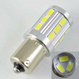 Светодиодная автомобильная лампа SLP LED  Цоколь 1156 (P21W)(BA15S) 21-5630 9-30V Белый