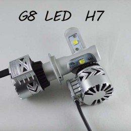 Комплект LED ламп в основные фонари, Цоколь Н7, серия G8, 36W, 6000 Люмен/Комплект