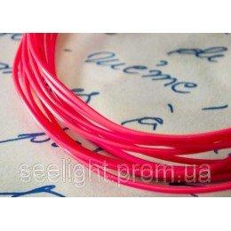 Электролюминесцентный провод (холодный неон) III поколение, диаметр- 5мм., цвет- розовый