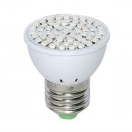 Светодиодная фито лампа для растений 41R19B,  Е27 SMD 5Вт.