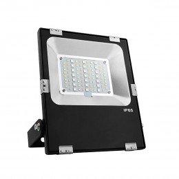 Светодиодный прожектор Mi-Light 30Вт, RGB+CCT, WI-FI, (AC)