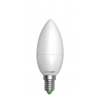 LED Лампа EUROLAMP EKO CL 6W E14 3000K