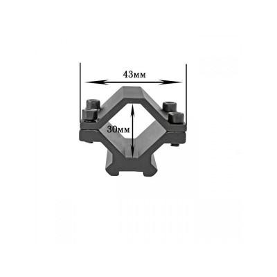Крепление на оружие для фонаря M 048 (планка Вивера 10 мм)