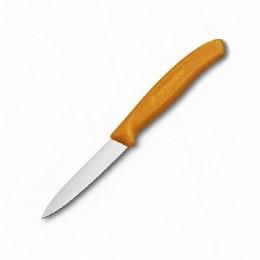 Ніж кухонний Victorinox SwissClassic Paring помаранчевий  (Vx67606.L119)