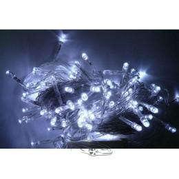 Гирлянда светодиодная 400ламп (LED) прозрачный (белый) провод. Цвета светодиодов: синий, микс (разноцветный), белый.