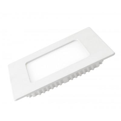 LED Светильник EUROLAMP квадратный Downlight 4W 3000K