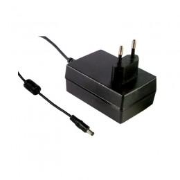Адаптер питания Mean Well 18 Вт, 12V, 1,5 А разъем 2.1х5.5 мм GS18E12-P1J