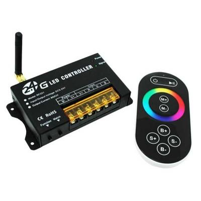 Контроллер для LED ленты RGB радиоуправление сенсорный 288 ВТ. 2.4 ГГц.