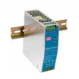 Блок питания Mean Well На DIN-рейку 120 Вт, 12V, 10 А NDR-120-12