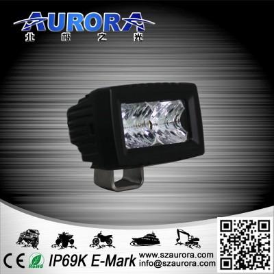 Дополнительная светодиодная фара ALO-L-2 10W Сree 9-36V  IP69  1100 Люмен, Дальний свет